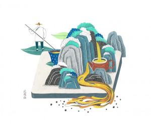 创意绘画:四季图一组