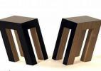看起来要倒的椅子和看起来很粗糙的椅子创意家具设计
