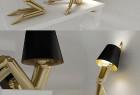 有趣的人型创意台灯设计