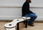 链子长椅和有趣的手指造型椅子创意设计作品