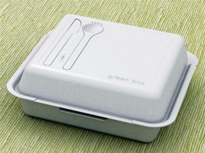 方便携带的立体饭盒、绿色饭盒和有趣的金字塔营养饭盒设计