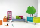 西班牙BM儿童家具作品 鲜艳的动感儿童家具设计