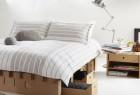 折叠便携纸质纸板卧室家具 简单到了极点的创意设计