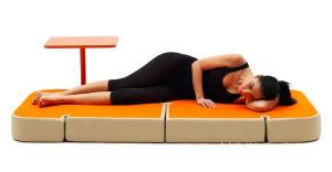 多功能躺坐睡功能结合沙发设计 时尚系列布艺沙发