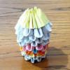手工折纸三角插小笔筒的做法图解教程