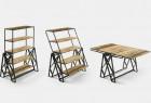 是桌子也是架子的创意多功能家具