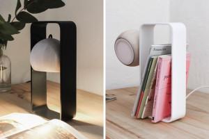 造型多变的台灯让你感受不一样的光