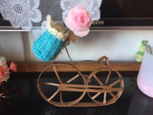 手工折纸DIY 自行车简单折纸步骤