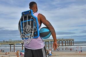 创意背包篮球框