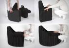 可折叠便携式的毛毡椅