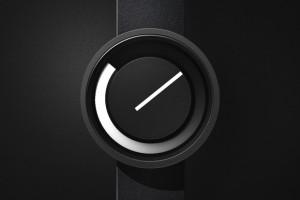 极简主义手表,非指针也非数字