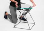吸盘玻璃座椅