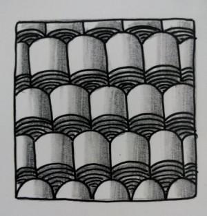 100个禅绕画的画法图解教程、035