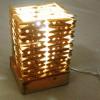 竹夹子手工DIY漂亮的台灯做法图解教程