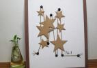 瓦楞纸旧物利用艺术画制作教程