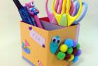 用纸盒和毛球DIY漂亮的小海龟笔筒做法图解教程
