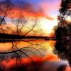 秋色如诗山水如画创意摄影作品