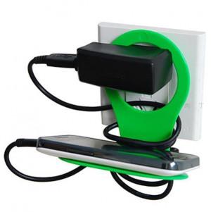 手机充电器立式机座、手机架 可以自己动哦