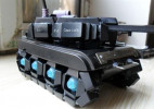 坦克模型制作教程 用废键盘制作个性玩具DIY方法