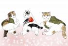 萌猫创意插画