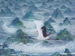 美轮美奂的仙景图