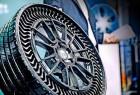 米其林推出不用打气永不爆胎的轮胎,碰到钉子也不怕
