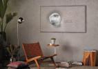 与墙壁融为一体的电视