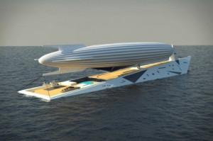 梦幻般游艇与飞艇
