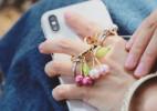 时尚可爱的手机指环