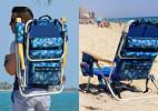 一箭双雕的沙滩背包椅