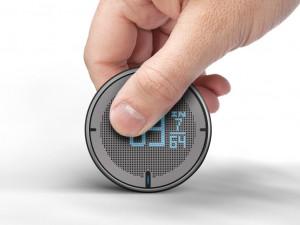 小巧的圆形数字测量仪