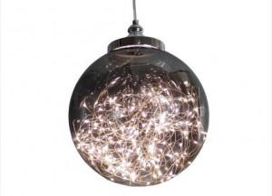 装有LED灯带的吊灯