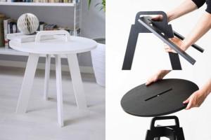 简易组装的小边桌