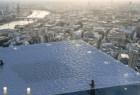 这才叫360度全景无边游泳池!