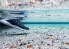 100%防水的运动鞋