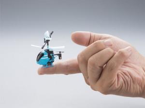 世界上最小的遥控直升机