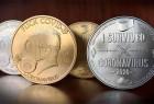 因为这次疫情,外国人设计了一套新冠疫情纪念币