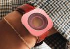视障人士专用的硅胶手表