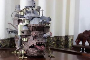 手工制作哈尔的移动城堡
