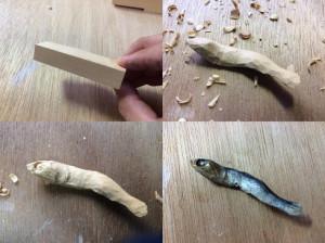 以假乱真的食物木雕