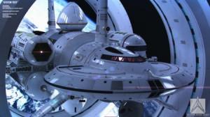 NASA概念超光速飞船