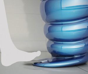 最美的海螺台盆,螺旋洗脸盆创意设计