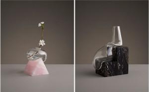 刚柔并济的创意玻璃花瓶