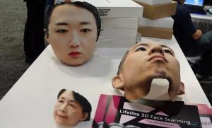"""360度无死角3D人脸相机 拍出来还能做成""""人皮面具"""""""