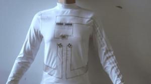 这件衣服可以发电