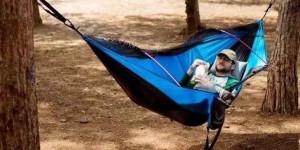 这绝对是最适合放松的吊床