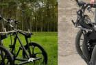 太阳能驱动的电动踏板车,还能折叠!