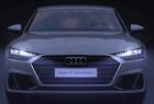 奥迪新车A6 e-tron 车灯投影简直酷爆了