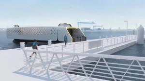 德国设计电动渡轮 无需人手24小时自动航行