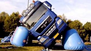 侧翻汽车救援神器 可使车身平稳落地